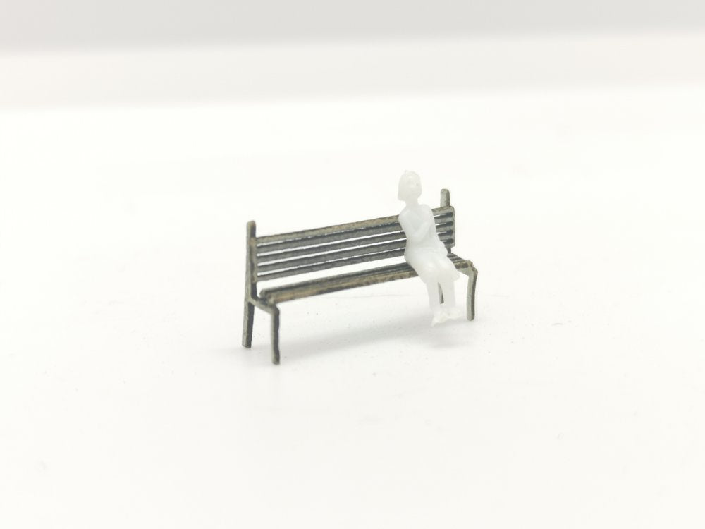 N Gauge Bench set x 20 per pack