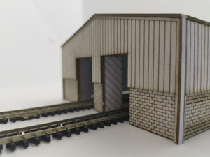 N Gauge Modern Train Shed