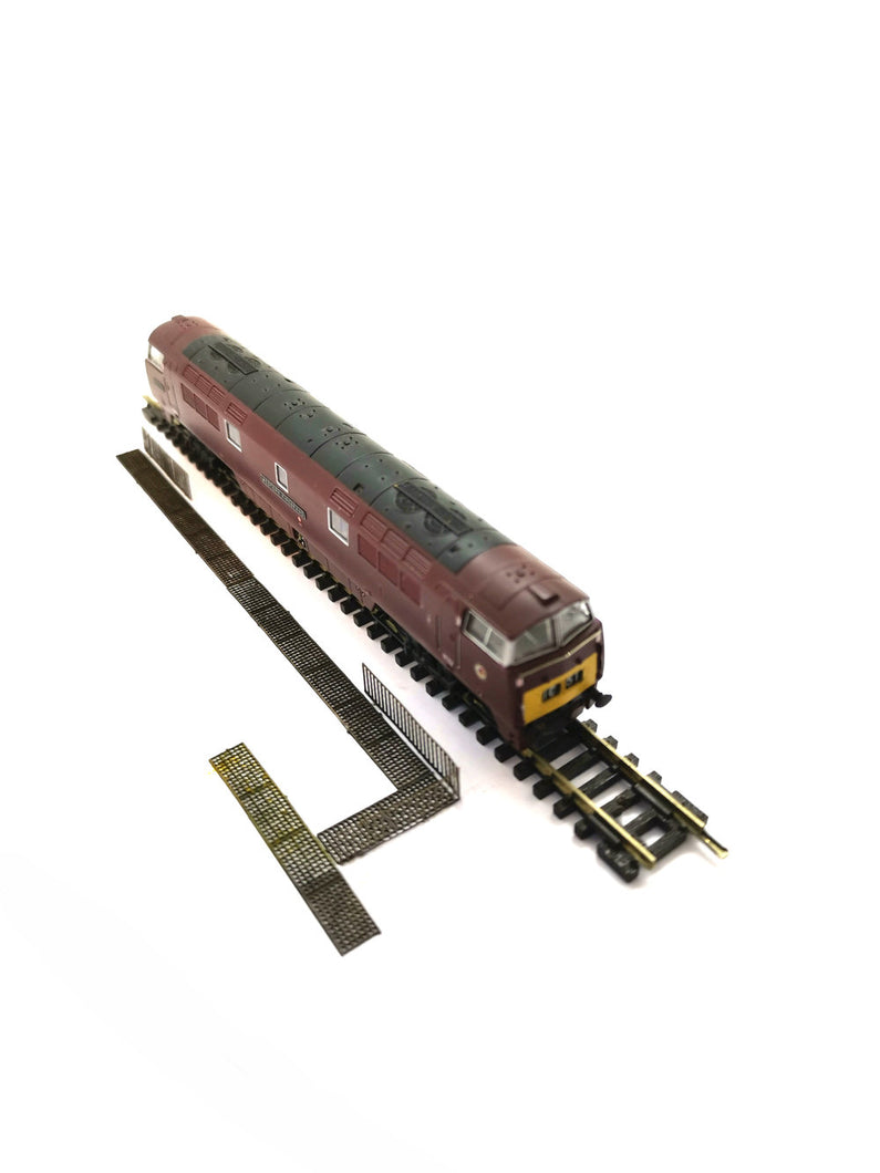N Gauge Trackside Grated Walkway