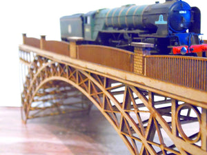 OO / HO  Cast Iron Bridge ONE PIECE