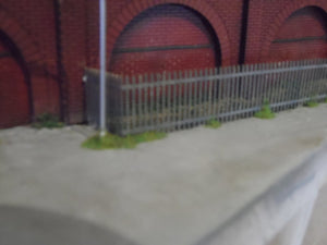 Tall Spiked Security or Perimeter Fencing