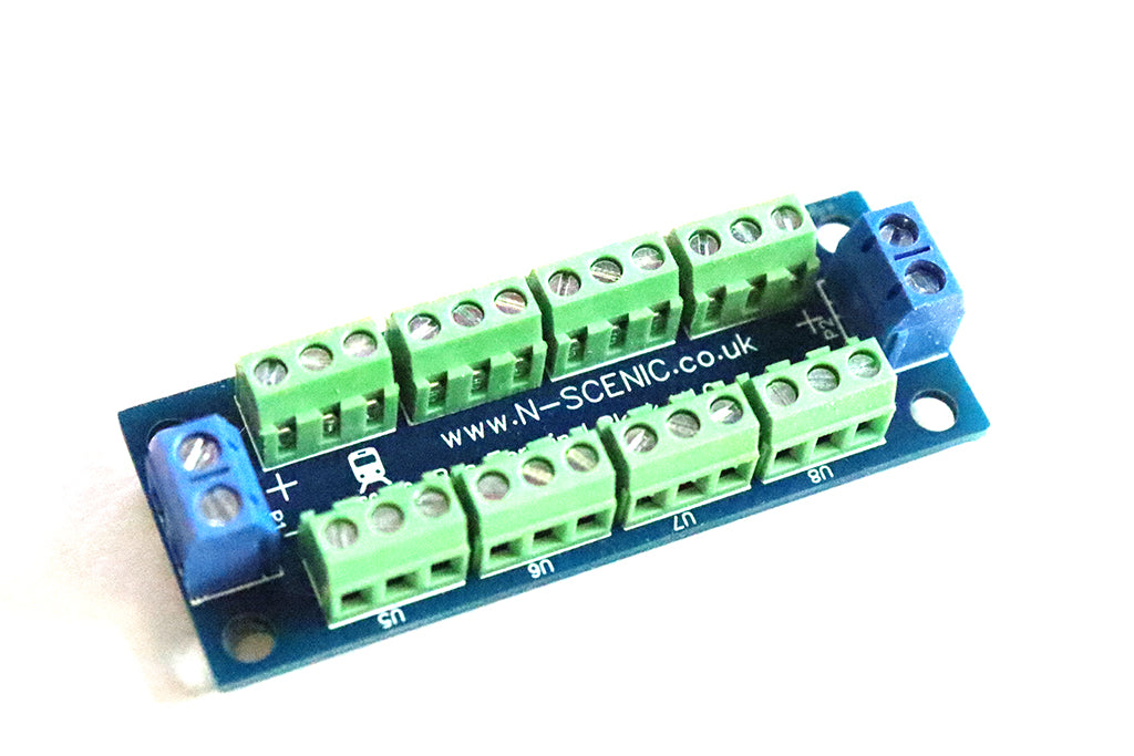 DCC Bus Wire Terminal Block