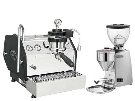 La Marzocco GS3 Manual Paddle & Mazzer Mini Electronic Grinder | Nine Yards Coffee | Northern Beaches, Sydney