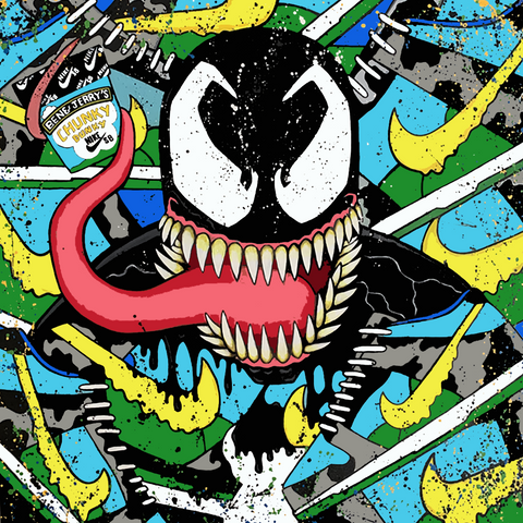 Venomized Chunky Dunky Canvas Prints