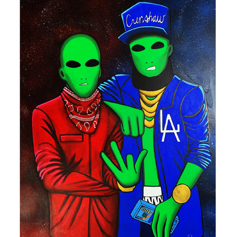 Image of LAliens - Canvas Print