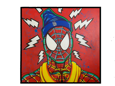 Spidey Senses - Canvas Print