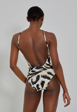 Load image into Gallery viewer, Detail Strap Halter Maillot 475 Malawi Lenny V21