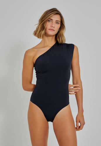 One Shoulder Loop Maillot 511 Black Lenny V21