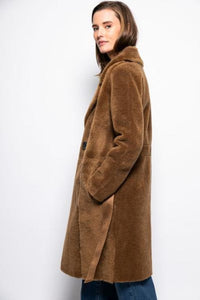 Coat WoolTeddy 161134 YaYa I19