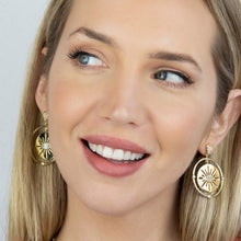Load image into Gallery viewer, Earrings Cat EyeStone BPE313 - Fio d'Água Shop Online