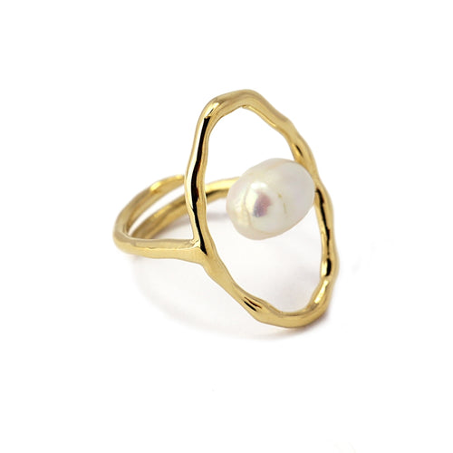 Pearl Ring AAN458 - Fio d'Água Shop Online