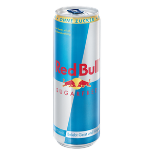 Red Bull Energy Drink Sugarfree - 355 ml Dose (inkl. Pfand 0,25€)