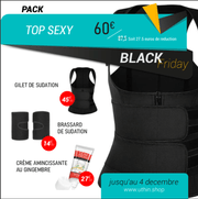 "PACK TOP SEXY spécial ""BLACK FRIDAY"" (du 23 au 4dec inclus)"