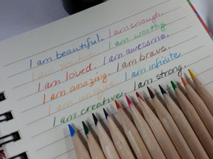 Empowerment Pencils™ Affirmations with a colourful twist!