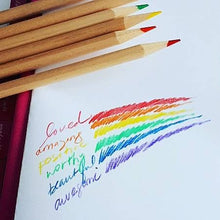 Load image into Gallery viewer, Empowerment Pencils™ Affirmations with a colourful twist!