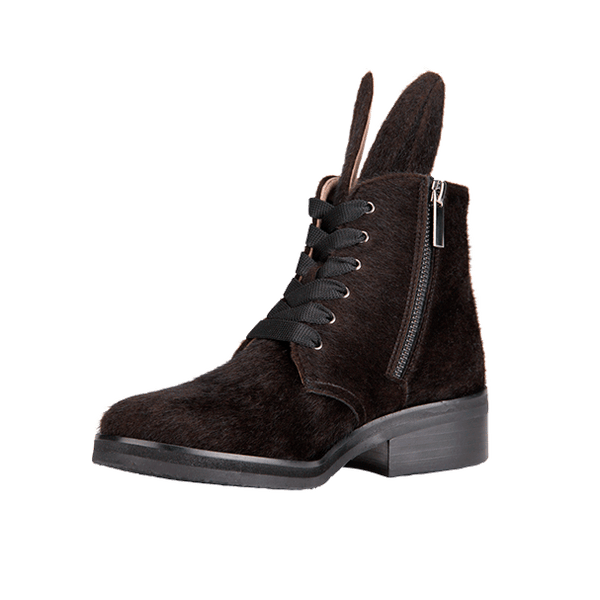 BUNNY BOOT vegan black