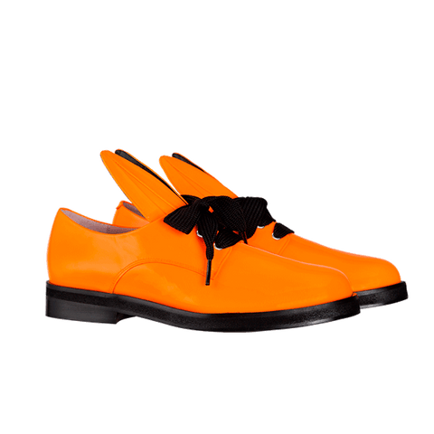 BUNNY LACE UP neon orange