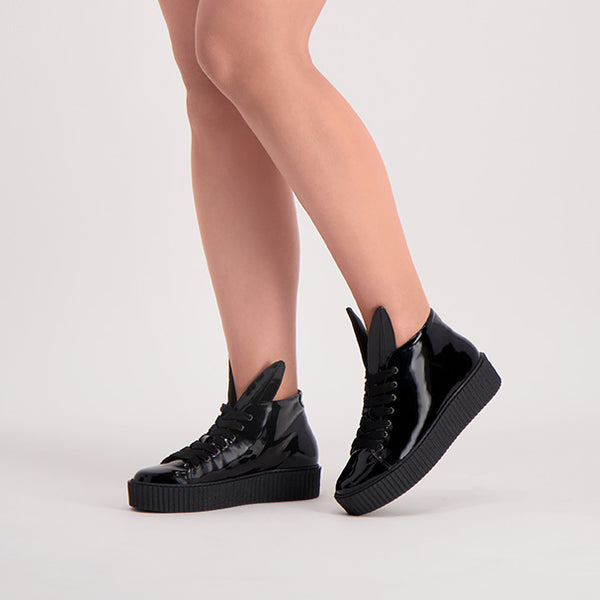 BUNNY SNEAKS CREEPER black patent