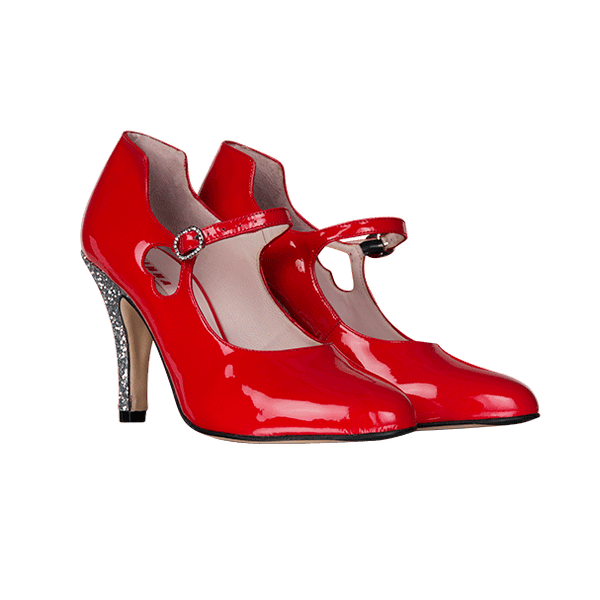STARLET red patent