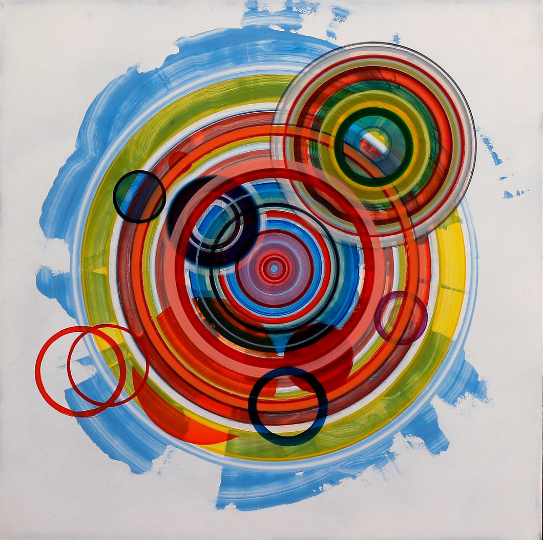 Untitled (circle painting #5) - Steven Kenny