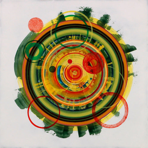 Untitled (circle painting #8) - Steven Kenny