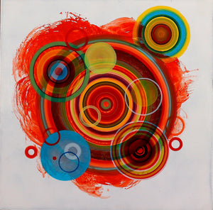 Untitled (circle painting #6) - Steven Kenny