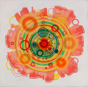 Untitled (circle painting #3) - Steven Kenny