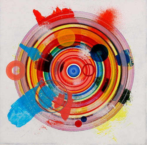 Untitled (circle painting #4) - Steven Kenny