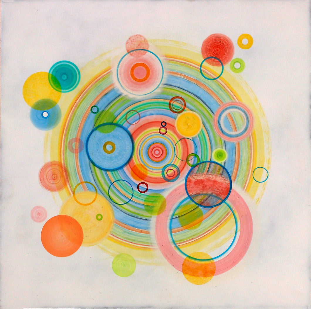 Untitled (circle painting #1) - Steven Kenny