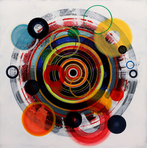 Untitled (circle painting #10) - Steven Kenny