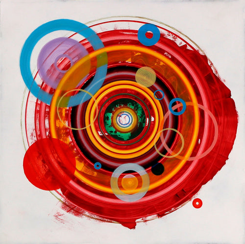 Untitled (circle painting #7) - Steven Kenny