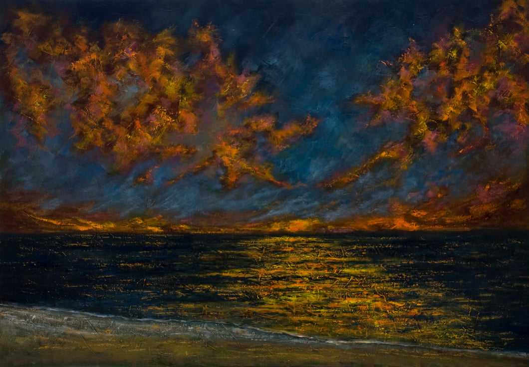 Sunset Over Treasure Island - Jim Gigurtsis