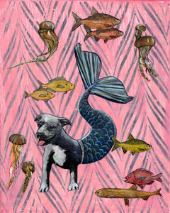 Pit Bull Mermaid - Gianna Pergamo
