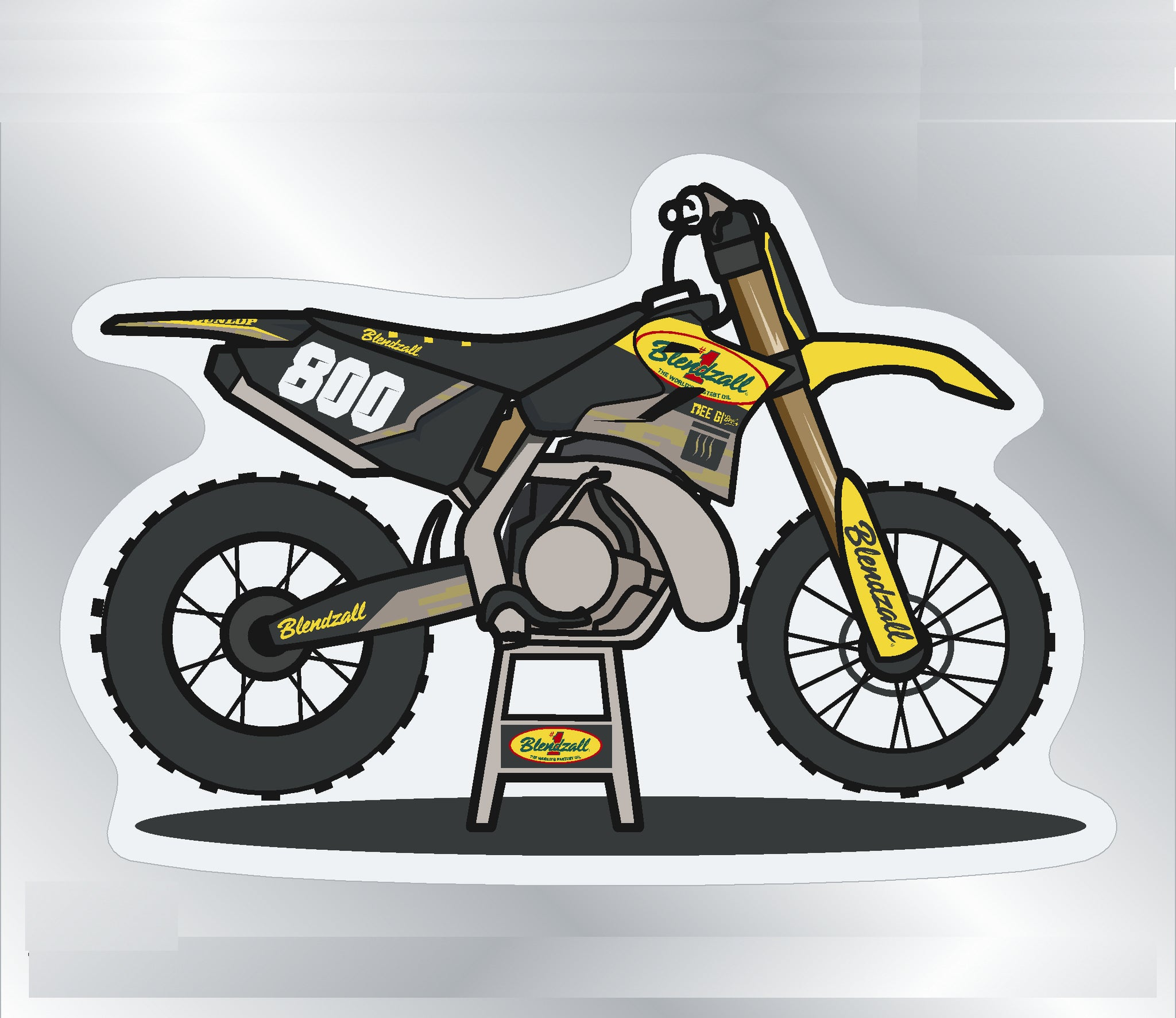 Blendzall bike sticker