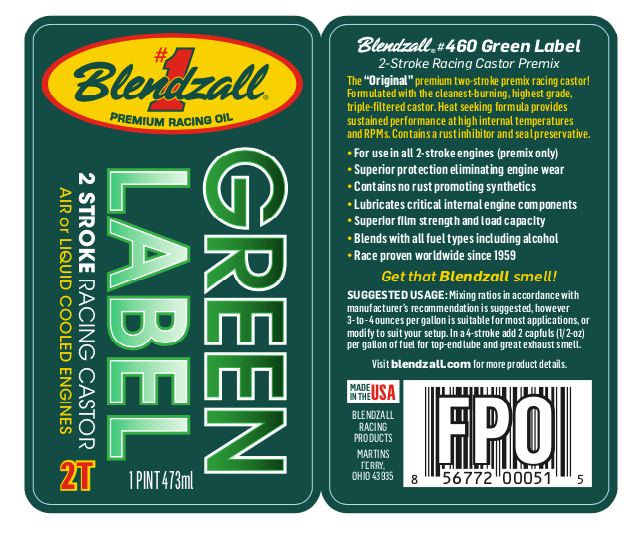 Blendzall #460 Green Label