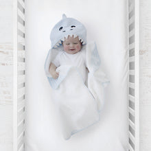 Load image into Gallery viewer, Shark Hooded Towel