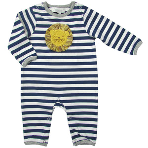 Albetta Baby Lion Baby Grow Playset Play Set Babygrow Cotton GOTS Certified Handmade
