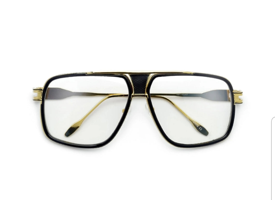 Men's Square Frame Hip Hop