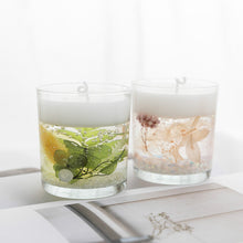 Load image into Gallery viewer, 'Life Underwater' Scented Gel Candle with preserved flowers inside