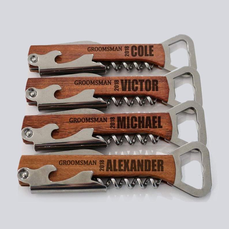 "Customizable ""Anything & Everything"" Bottle Opener for Guys"
