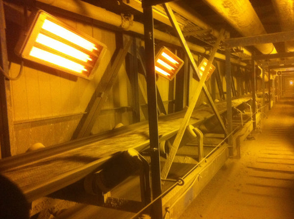Ufo Heaters in Gold Mine, Timmins