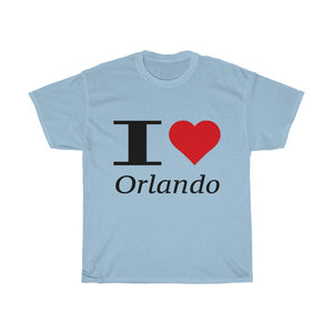I Heart Orlando Unisex Heavy Cotton Tee