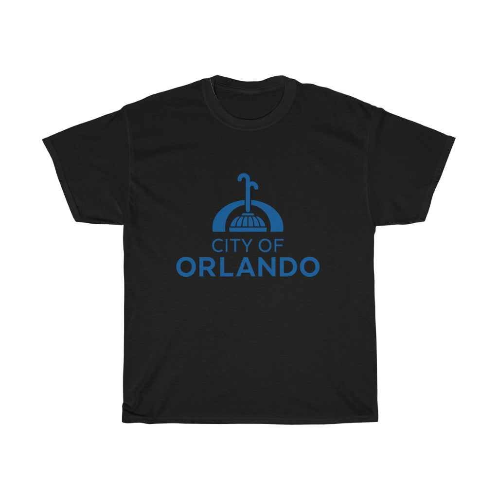Orlando  Eola Fountain Unisex Heavy Cotton Tee