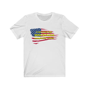 I Survived the 2020 Debates Unisex Short Sleeve Tee