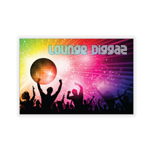 Lounge Diggaz Kiss-Cut Stickers