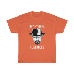 Breaking Bad Heisenberg Unisex Heavy Cotton Tee