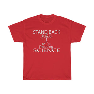 I'm Doing Science Unisex Heavy Cotton Tee