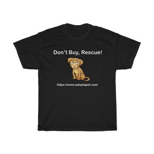 Rescue Dog - Unisex Heavy Cotton Tee