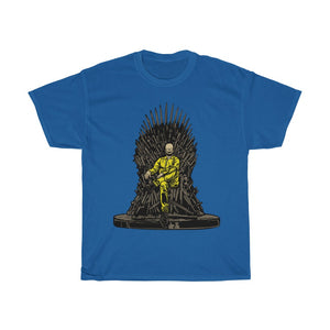 Heisenberg on the Iron Throne Unisex Heavy Cotton Tee