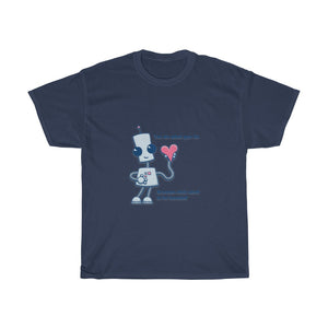 Robot Love Unisex Cotton Tee